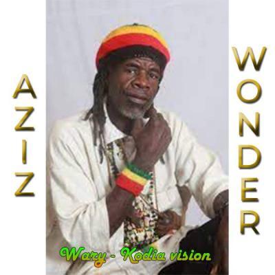 """Aziz Wonder Album: Wary - Kodia Vision Troisième album de AZIZ WONDER intitulé """"Wary - Kodia Vision"""". Un album de reggae malien composé de 8 titres"""